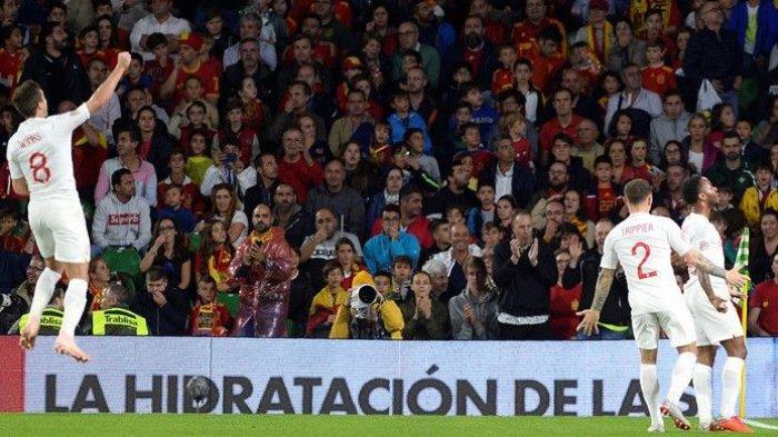 Tuan Rumah Spanyol Dipermalukan Inggris 2-3