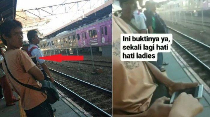 Cowok Ini Diam-diam Suka Foto Wanita Cantik di Stasiun Kereta, Isi Galerinya Bikin Geram