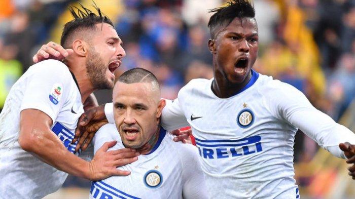 Inter Milan Raih Kemenangan Perdana Dikandang Bologna