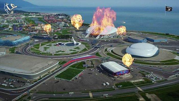 Rilis Video Propaganda, ISIS Tunjukkan Stadion untuk Piala Dunia Dibom, Bukti Serius Serang Rusia