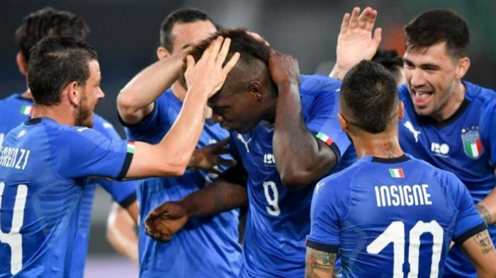 Sejarah Kelam Terulang, Timnas Italia Ditahan Imbang Ukraina