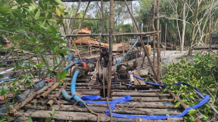 Polisi Tertibkan TI Rajuk Tower di Desa Dukong, 7 Orang Diperiksa, Bos TI Bakal Dipanggil