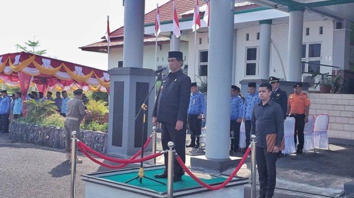 Upacara Peringatan Hari Kesaktian Pancasila di Belitung Timur, Bupati: Jangan Mudah Terhasut