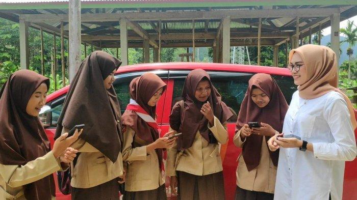 Telkomsel Hadirkan Layanan 4G LTE di Tigo Lurah, Solok, Kini Pelajar Bisa Belajar Daring dari Rumah