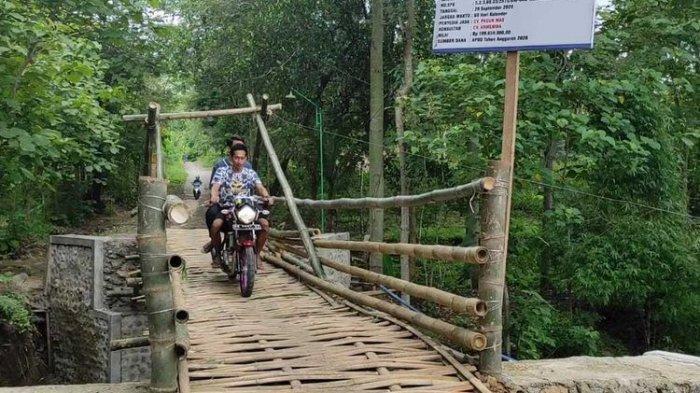 Jembatan Bambu Senilai Rp 200 Juta, Viral di Medsos