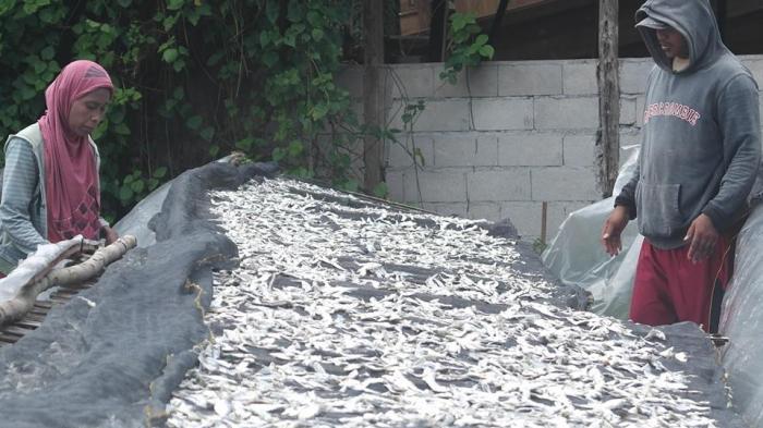 Ikan Asin Rebus Belitung, Tembus Pasar Kalimantan