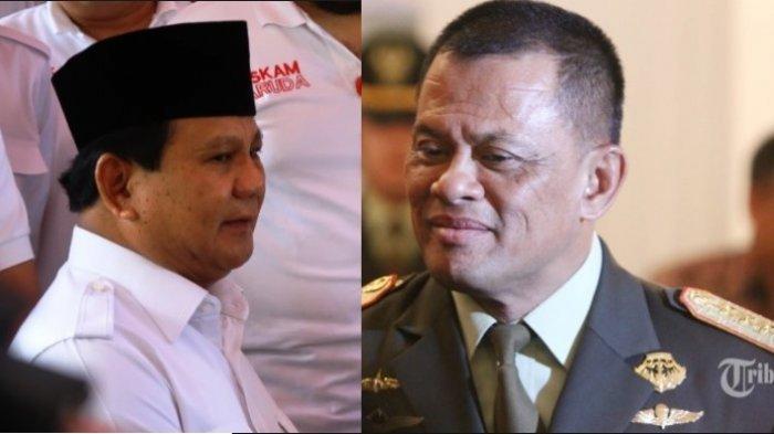 Litbang Kompas: Gatot Teratas Jadi Cawapres Prabowo, Nomor 2 Anies Baswedan