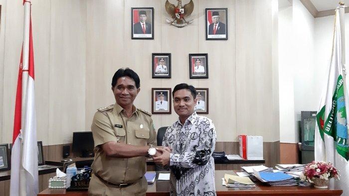 Bupati Belitung Timur Yuslih Tak Menyangka Masuk Nominasi Dwija Praja Nugraha 2019
