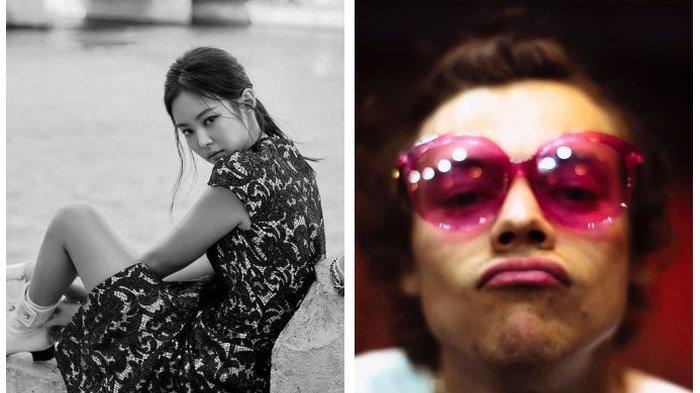 Harry Styles Tiba-tiba Terpikat Potret Cantik Jennie Blackpink