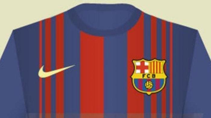 Anda Penggemar Berat Barcelona, Ini Penampakan Jersey Musim Depan
