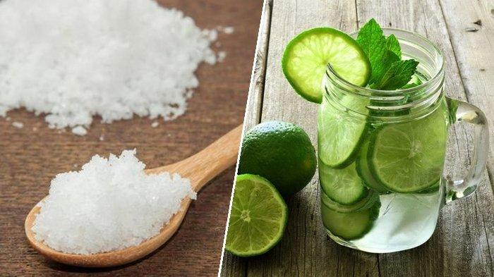 Minum Air Jeruk Nipis Campur Garam Setiap Bangun Tidur, Rasakan Khasiatnya