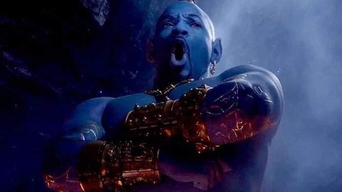 Mengapa Jin dalam Film Aladdin Muncul dengan Warna Biru, Begini Kata Sains,