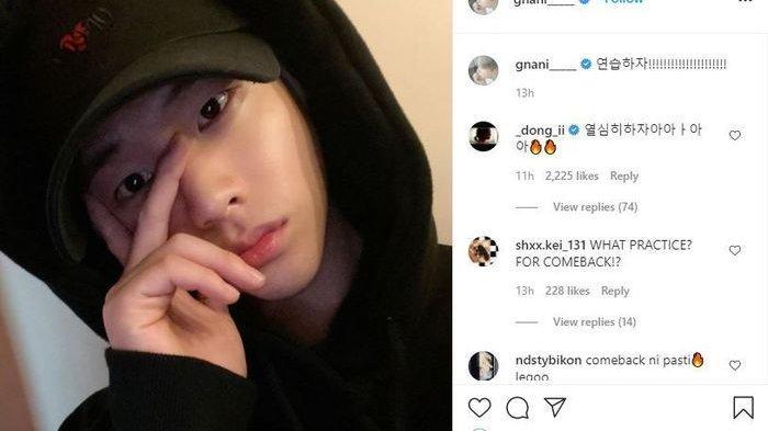 Unggahan Jinhwan iKON Bikin Penggemar Penasaran Setengah Mati, Yuk Kepoin!