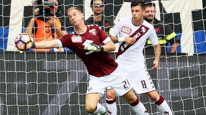 Debut untuk Torino, Joe Hart Malah Bikin Blunder