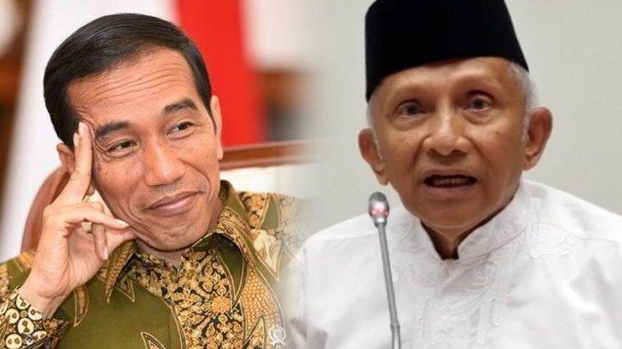 Amien Rais Wacanakan Masa Jabatan Presiden 3 Periode, Apa Tanggapan Jokowi?