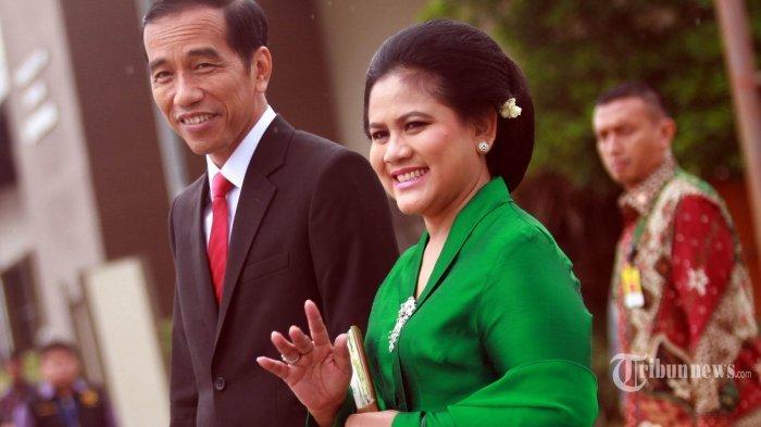 Video Perlakukan Jokowi ke Istri Bikin Warganet Baper