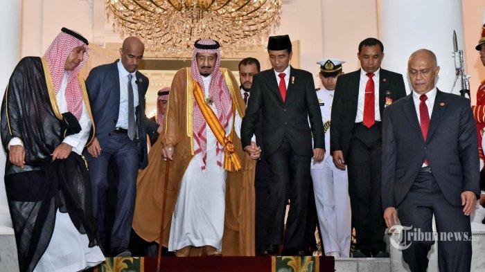 Ini Permintaan Khusus Raja Salman untuk Penyambutan di Gedung DPR