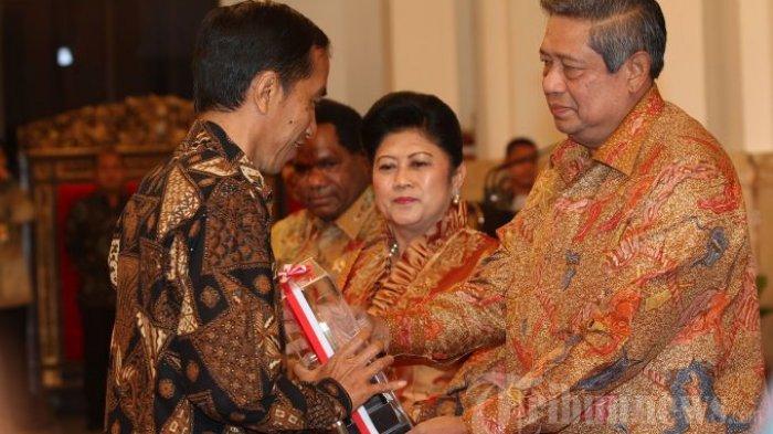 SBY dan Jokowi Bertemu di Istana Selama Satu Jam, Bahas Berdua Soal Menteri