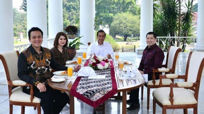 Jokowi JamuTiga Pimpinan Partai Muda di Istana Bogor Mereka Memberi Inspirasi dan Semangat