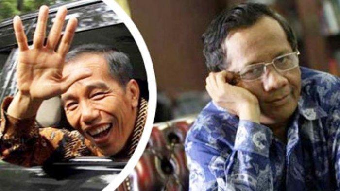 Jokowi Minta Maaf ke Mahfud MD