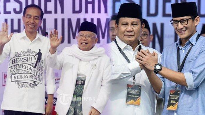 Hitung-hitungan Peta Kekuatan Capres & Cawapres di Atas Kertas, Kuat Jokowi atau Prabowo?