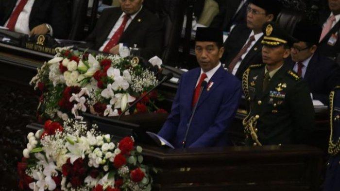 Pidato Sidang MPR, Jokowi Klaim Tingkat Pengangguran Menurun