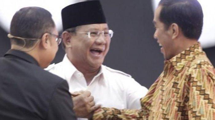 Hasil Survei, Elektabilitas Prabowo Subianto Meningkat Tajam, Jokowi? Nama Gatot Nurmantyo Muncul