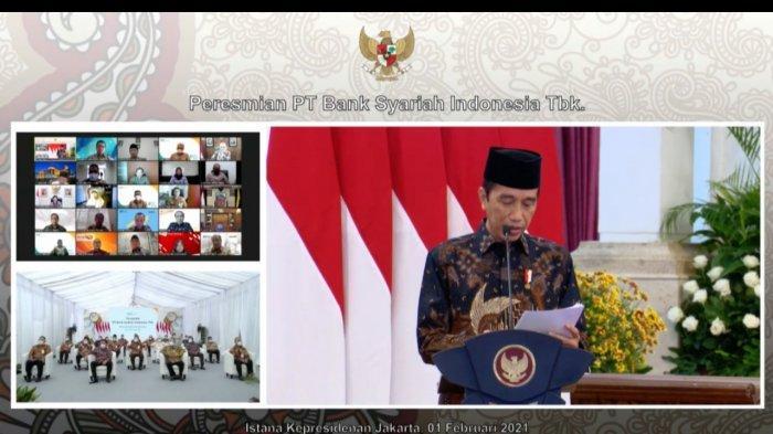 Presiden Jokowi Resmikan Bank Syariah Indonesia