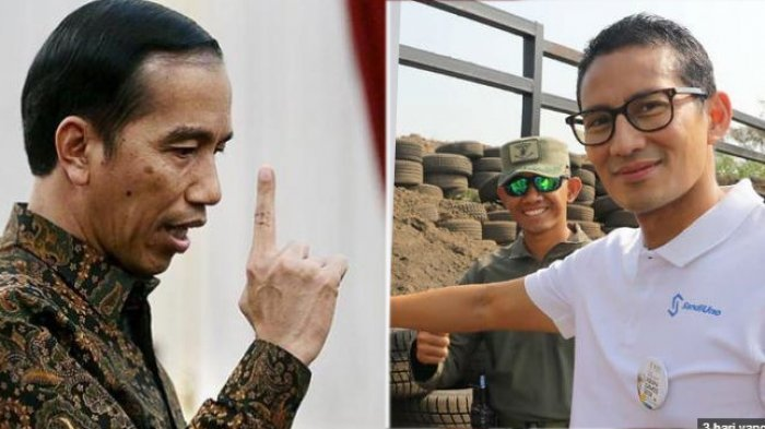 Berikan Bocoran Soal Menteri, Ditanya Peluang AHY dan Sandiaga Uno, Jokowi Jawab Ya Kenapa Tidak