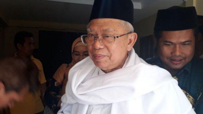 Kata Jokowi tentang Maruf Amin : Kami Saling melengkapi, Nasionalis Religius