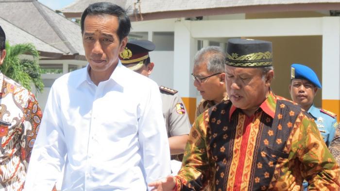 Kenang-kenangan Presiden Jokowi Berkunjung ke Belitung Saat Bulan Puasa Tahun Lalu