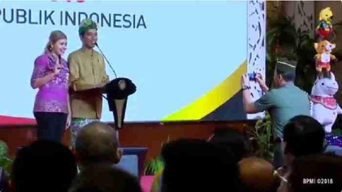 Berhasil Jawab Kuis, Wanita Ini Tegas Tolak Sepeda dari Presiden Jokowi, Tapi Malah Minta Ini