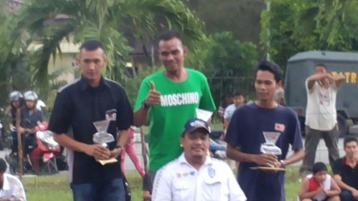 Serda Taufik Berjaya di Drag Race Dandim 0413 Bangka Cup