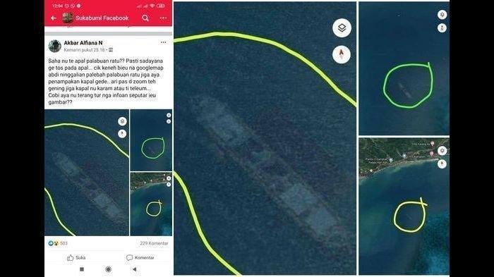 Kepala UPP Palabuhanratu Sebut Kapal ini Terkait Misteri Kapal Karam di Sukabumi Terekam Google Maps