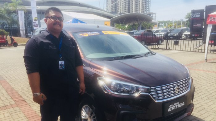 GIIAS 2018 Jurnalis Jajal Mobil Konsep Sport Suzuki