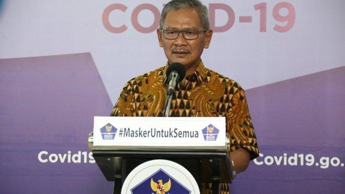 Achmad Yurianto Curhat Sempat Dijuluki Pembawa Berita Kematian