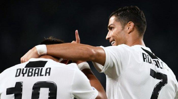 Cetak Gol ke Gawang Genoa, Cristiano Ronaldo Ukir Rekor di Lima Liga Top Eropa