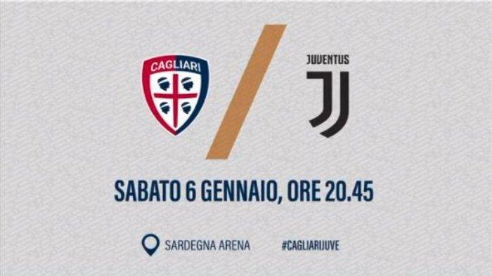 Saksikan LIVE STREAMING Cagliari Vs Juventus Pukul 02.45 WIB! Jarak Klasemen Cukup Jauh