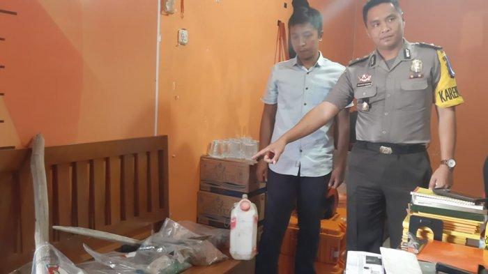 Kasatpol PP Provinsi Bangka Belitung Laporkan Dugaan Perusakan di Polres Belitung