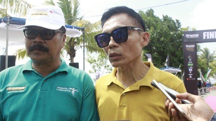Dispora Belitung Kucurkan Dana 1,2 Milyar, Dukung Belitung Triathlon Trifactor Asian Championship