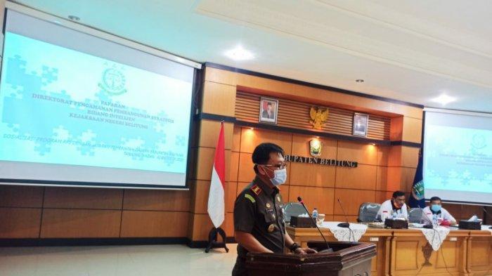 Kejari Belitung Siap Dampingi Program Pengamanan Proyek Strategis Pemda