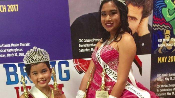 Wow, Kakak Adik Asal Indonesia Ini Menangi Kontes Miss di Amerika Serikat