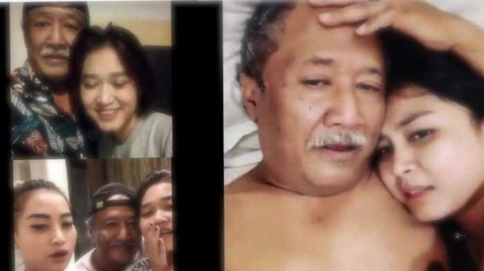 Kolase tangkapan layar video YouTube yang dibagikan Mbah Kung sendiri ke media sosial.