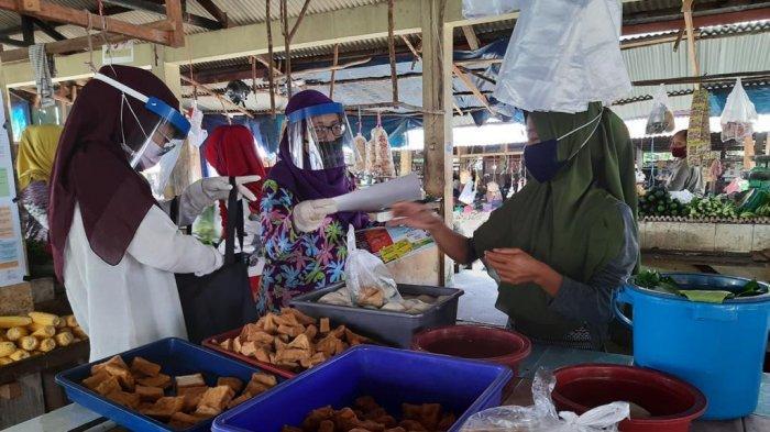 Loka POM Belitung Kampanye dan Awasi Makanan di Pasar Tradisional