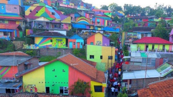 Kampung Pelangi Makin Mendunia, Media Asing Sebut Kampung Ini Istimewa, Instagrammable