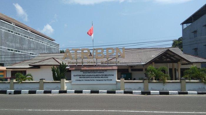BPN Belitung Terapkan Program Pembuatan Sertifikat Secara Online