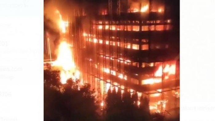 Mahfud MD Kaget, Kebakaran Gedung Kejagung Dinilai Besar Sekali
