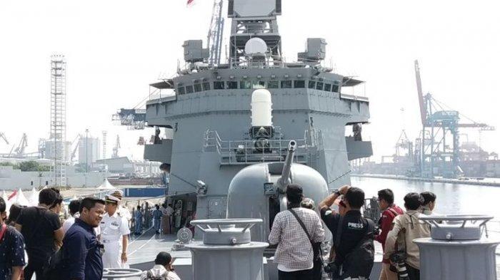 Kapal Misi Antipembajakan Berlabuh di Jakarta, Bakal Berlatih Bareng TNI AL