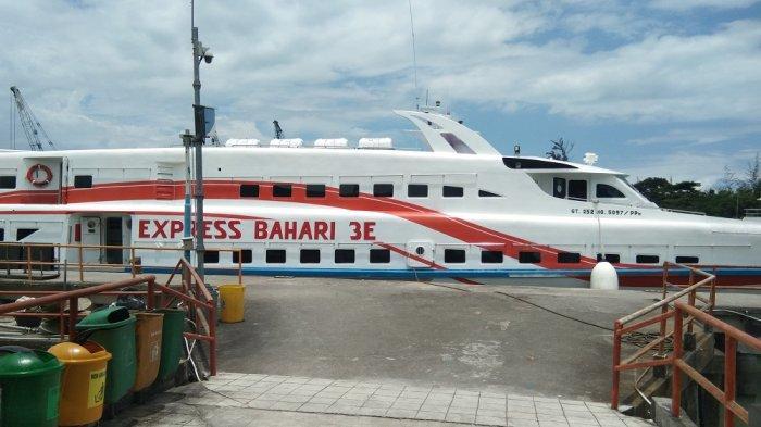 Kapal Cepat Express Bahari Diputuskan Tidak Beroperasi Selama Dua Pekan