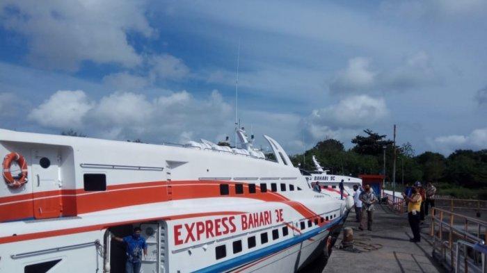 Express Bahari Berlayar Dua Kali Seminggu, Bisa Beli Tiket Via Aplikasi